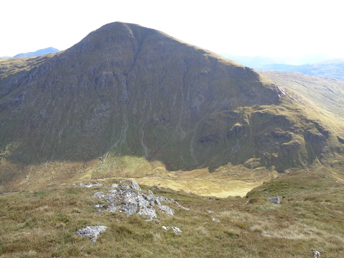 the corbetts beinn chaorach and cam chreag from auchtertyre